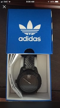 Adidas all black watch brand new  Caledon