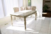 Dinning table and 4 stanning chairs  Ajax, L1T 3X9