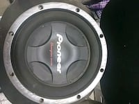 black and gray Pioneer subwoofer Tucson, 85730