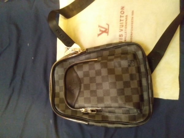 6c8793d416c8 Used damier graphite Louis Vuitton backpack for sale in Toronto - letgo