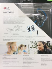 Lg force Bluetooth headphones  San Antonio, 78216
