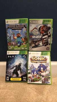 4 XBOX 360 games all for $25 Point Pleasant, 08742