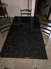 Granite dining table with 4 chairs Nokesville, 20181