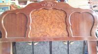 like new two premium head boards with light stand IRVINE