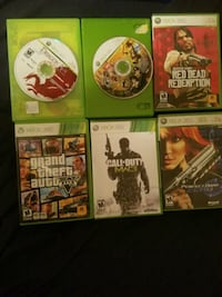 Six XBOX 360 Games Amherstview, K7N 1G1