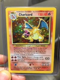 Charizard Pokemon Card  Edmonton, T6W 2J8
