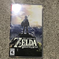 The Legend of Zelda Nintendo Switch game case Mississauga, L5R 3Y7