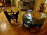 Wood/Glass End & Coffee Tables Laurel, 20724