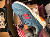 White and blue new balance low top sneakers Cottage Grove, 55016