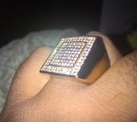 Iced out ring (size 12) Mississauga, L5M 3Y3