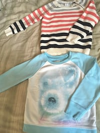 Two girls size 5-6 sweaters   Mission, V2V 2N7