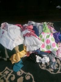 Baby girls clothing over thirty items   831 mi