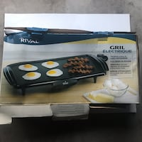 Electric breakfast grill Vancouver, V5R 2N6