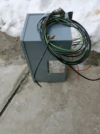Free stepdown transformer