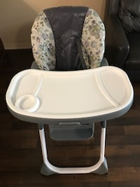 graco high chair almost new Oakville, L6H 6T1
