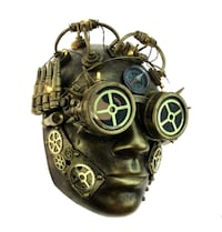 Awesome Halloween Retro Steampunk Mask M39343G