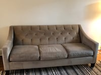 Tufted back sofa WASHINGTON