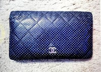 Authentic Chanel Perforated Black Wallet  Los Angeles, 91326