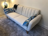 white and blue fabric sofa Arlington, 22203