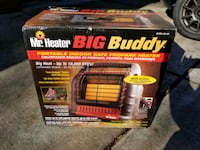 Mr. Heater MH18B Big Buddy Portable Propane Heater Annandale, 22003