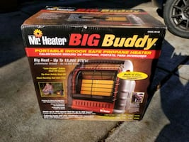 Mr. Heater MH18B Big Buddy Portable Propane Heater