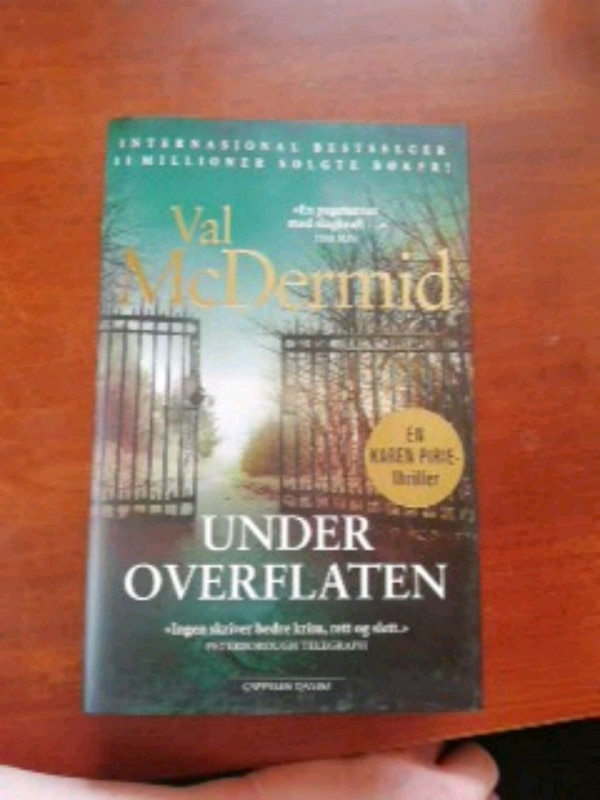 Under Overflaten bok av Val McDermid