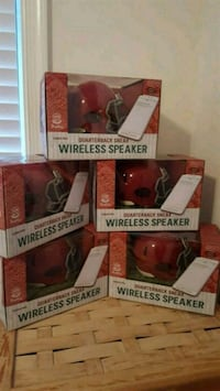 Wireless speaker football helmet.. Mini helmet Wilmington