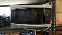 white and black Frigidaire microwave oven Douglasville, 30135