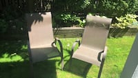 Pair of lawn chairs  Surrey, V4P