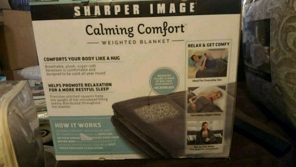 Used Calming Comfort Weighted Blanket For Sale In Dallas Letgo