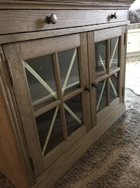 New double glass door cabinet Rocky View No. 44, T4B 3W3