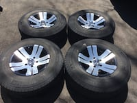 15 inch rims with Michelin P235/75R/15 tires Guelph