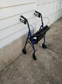 blue and black rollator Xenia, 45385