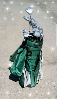 ☆☆ GOLF CLUB SET WITH BAG & SOME ACCESSORIES!! ☆☆