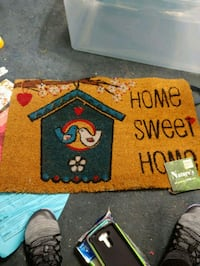 Welcome mat. Never used. Still with tag. $5 Knoxville, 37912