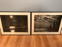 two black wooden framed wall decors Bristow, 20136