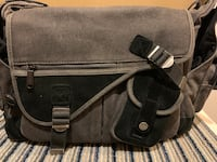 Multiple Pockets Camera Cross bag with padded inserts Richmond