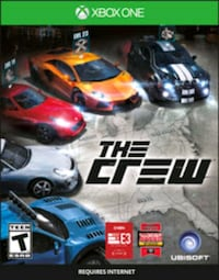 New sealed The Crew Xbox One Mississauga, L5A 3T2