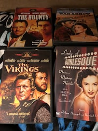Like new condition The Vikings, Lady Burlesques, War Arrow, The Bounty  Elkview, 25071