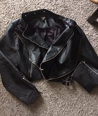 Torrid brand,Leather like jacket
