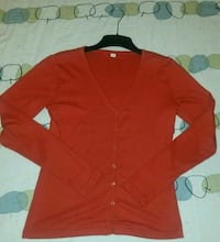 rote Strickjacke 34 / 36