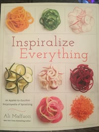Inspiralize everything cookbook Los Angeles, 91325