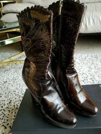 High heels boots size 5,5 Rolling Meadows, 60008