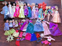 $75 for all Barbie dolls and dresses stuff,good condition ,smoke and pet free. Kingsport. Kingsport, 37664