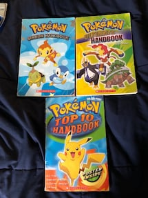 Pokémon books