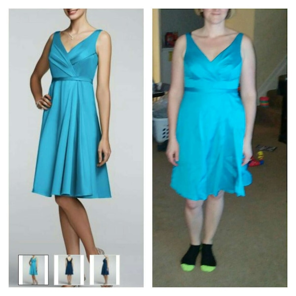 David S Bridal Malibu Dress Size 12
