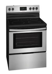 FRIGIDAIR electric range and oven stainless
