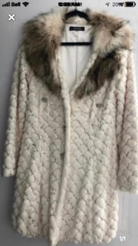 Large fur coat