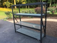 Industrial rack 4 shelves 2000 lbs each Round Hill, 20141