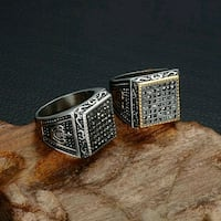 silver-colored and black ring Surrey, V3X 1P3